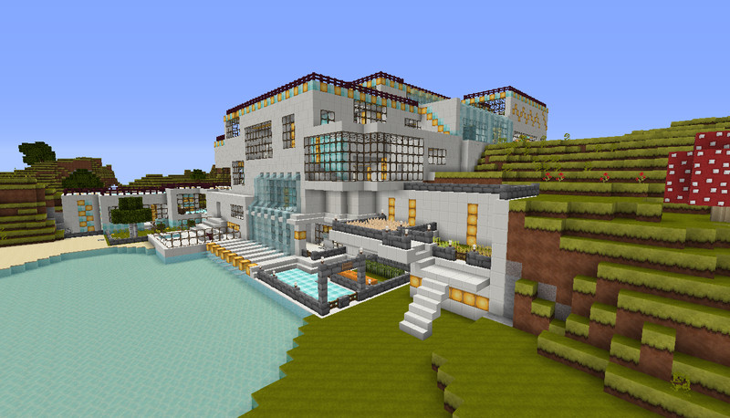 Minecraft quarzhaus v v 1 5 1 1 5 2 maps mod für minecraft