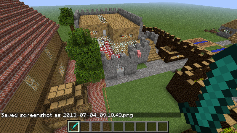 minecraft familien haus v 1 6 1 maps mod f r minecraft. Black Bedroom Furniture Sets. Home Design Ideas