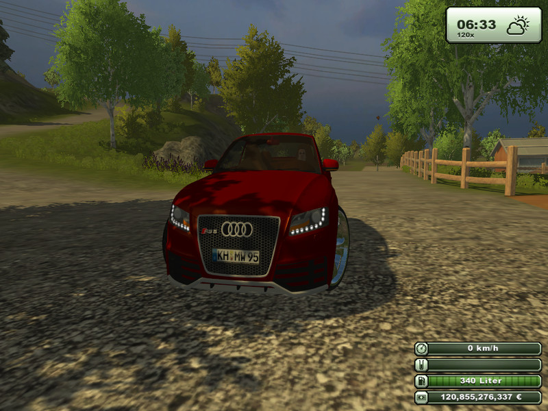 fs 2013 audi rs5 v 1 0 cars mod f r farming simulator. Black Bedroom Furniture Sets. Home Design Ideas