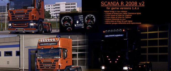50k SCANIA R 2008 v 2.0 ets2 image