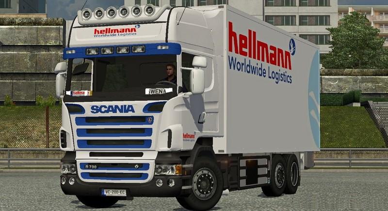 Ets 2 Scania Bdf Hellmann Worldwide Logistics V 1 0