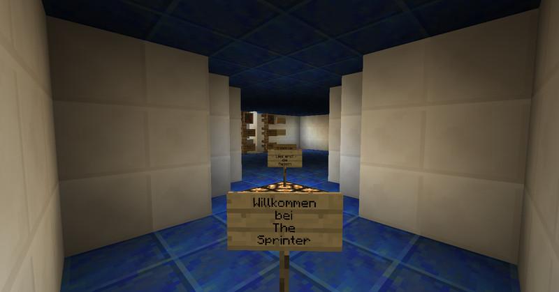 Minecraft: Adventure Map The Sprinter v 1.0 Maps Mod für ...