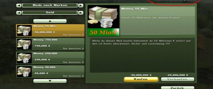 Ls 2013 Geld Kaufen V 10 Tools Mod Für Landwirtschafts Simulator 2013