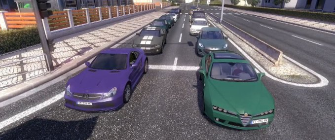 New Traffic From TDU2 MOD to ETS2 v 1.0 ets2 image