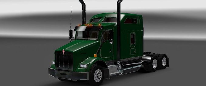 Kenworth T800 with Interior v 1.0 ets2 image