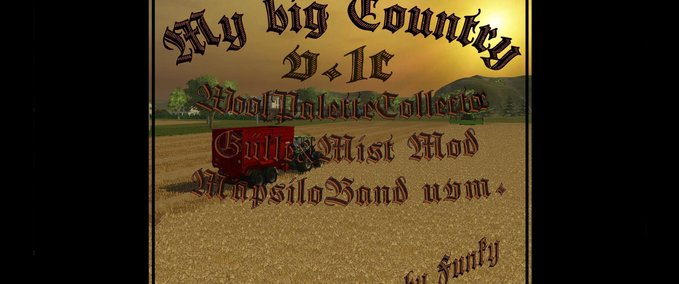 My BIG Country v 1c WoolPaletteCollector GuelleMistMod WaterMod image