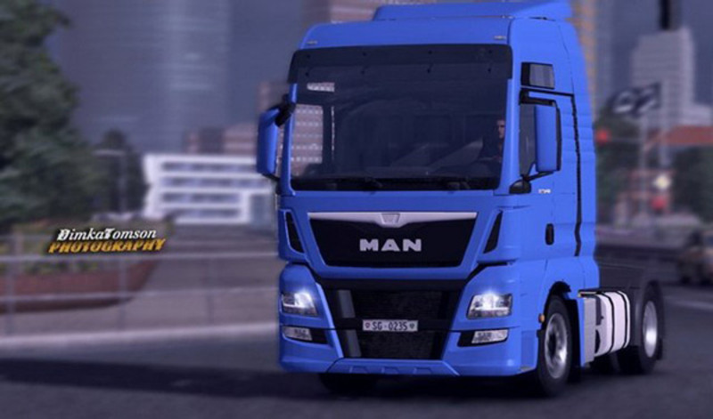 ets 2 man tgx euro 6 v 3 man mod f r eurotruck simulator. Black Bedroom Furniture Sets. Home Design Ideas