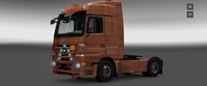 Mercedes Actros pear tree v 1.4 ets2 image