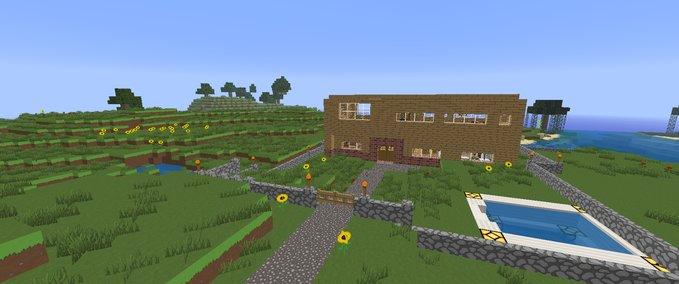 Villa Mit Pferdestall minecraft: villa mit pferdestall v 1.0 maps mod für minecraft