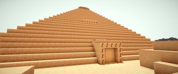 Minecraft-pyramide-mit-fallen