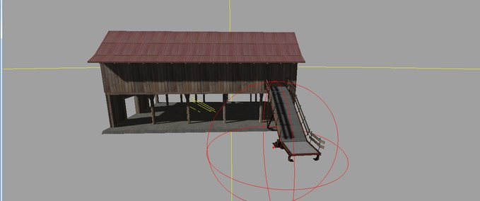 open barn and feed trough v 1.0 image