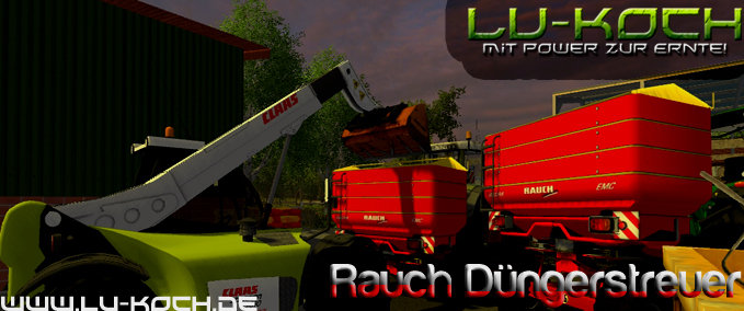 Rauch Fertiliser spreaders v 1,0 Beta image