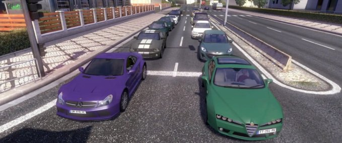Cool cars and sports cars in traffic v 1.0 ets2 image