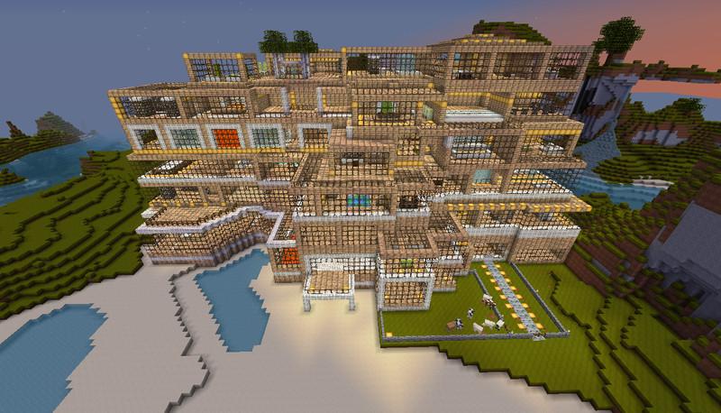 Minecraft Birken Residenz V 1 0 Maps Mod F 252 R Minecraft