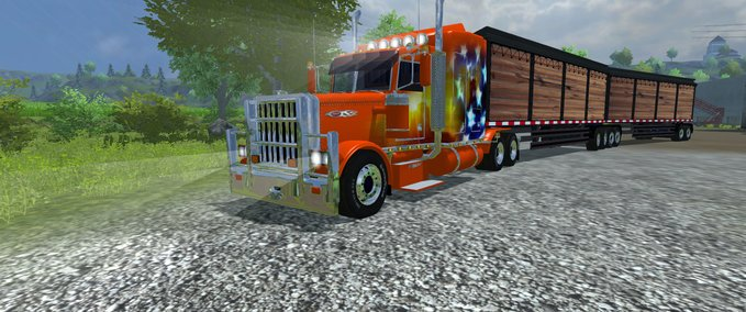 Peterbilt 379 Road Train v 1.0 image