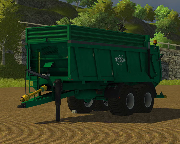 FS 2013: Steel construction for Tebbe HS 180 v 1 0 Addons