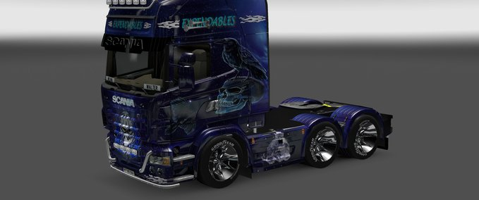 Scania Truck Show Expendables v 1.0 ets2 image