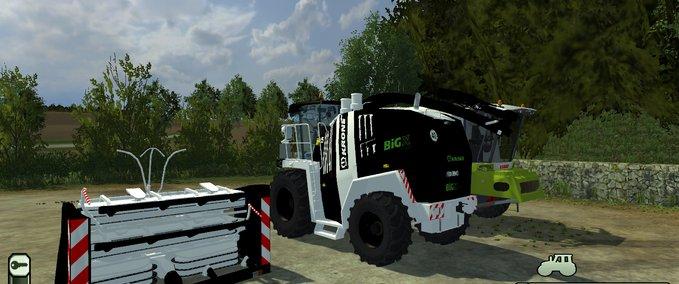 KroneBigX Black and Whit v 1.0 image