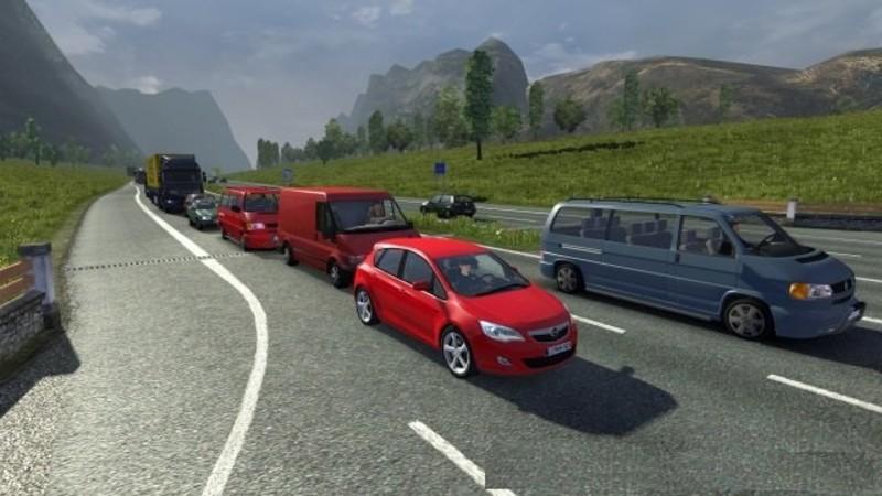 ETS 2: Mega Traffic Mod v 4 3 AI Mod für Eurotruck Simulator 2
