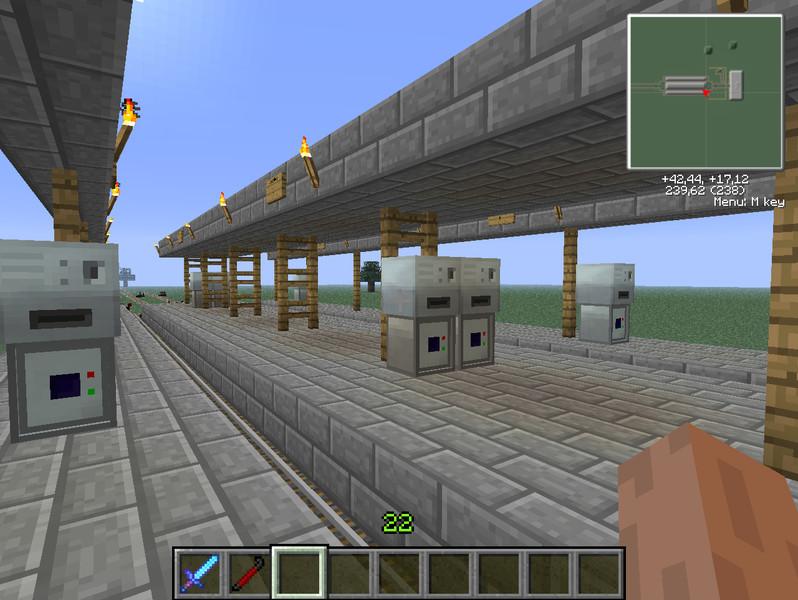Minecraft Industrial Craft    Skydaz