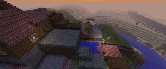 minecraft das etwas andere haus v 1 1 maps mod f r minecraft. Black Bedroom Furniture Sets. Home Design Ideas