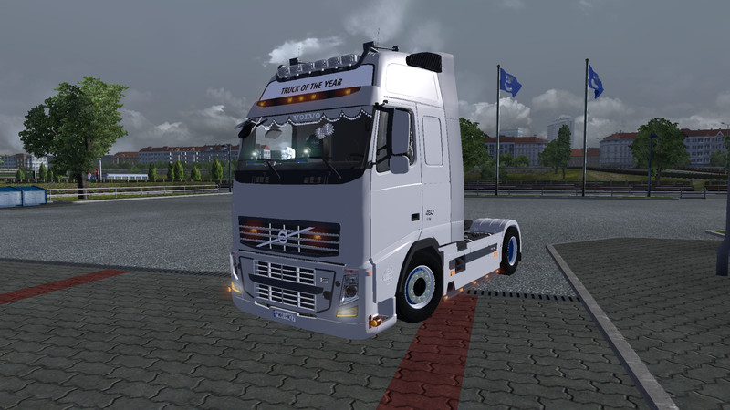 ETS 2: Volvo FH 460 Interior v 1.0 Volvo Mod für Eurotruck Simulator 2