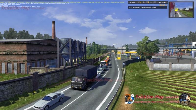 ETS 2: Multi Traffic Mod v 2 0 AI Mod für Eurotruck Simulator 2