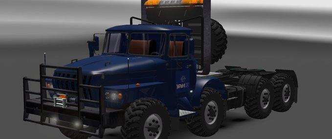 ets 2 ural 43202 v 2 5 trucks mod f r eurotruck simulator 2. Black Bedroom Furniture Sets. Home Design Ideas