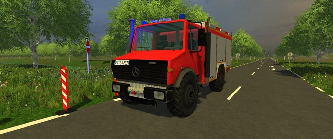 Unimog rescue vehicle  v 1.1 image