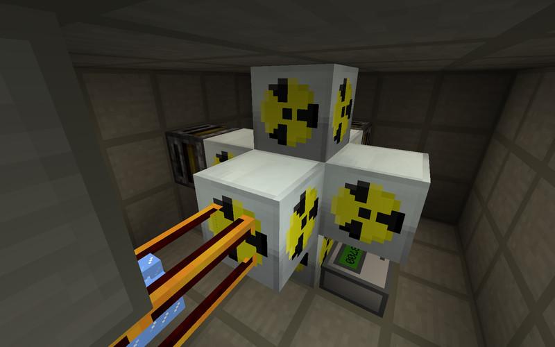 Reaktor atomowy minecraft mods