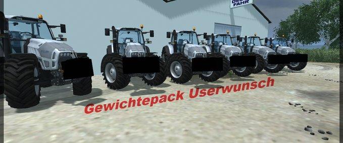 Pack weights DIY v 1.0 image