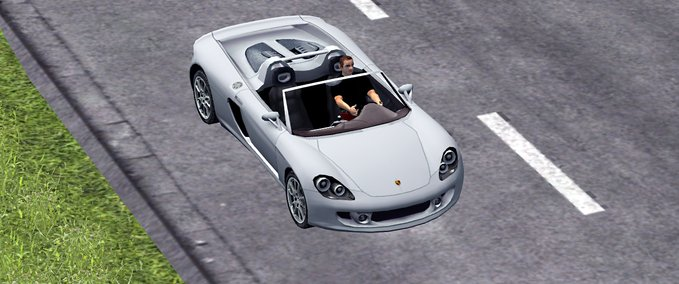 Porsche-carrera-gt-traffic-car