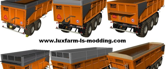 Pack 3 trailers Dezeure TT v 1.1 Fixed image