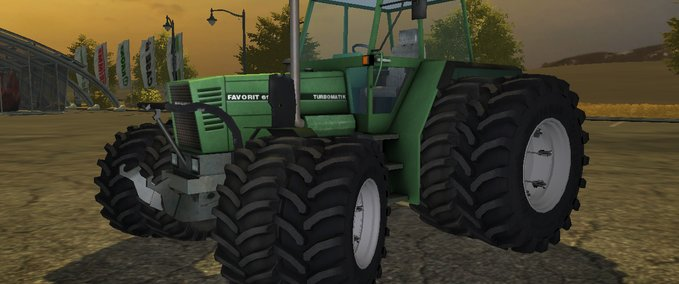 Fendt 614 v 1.0 with Alö Frontloader image