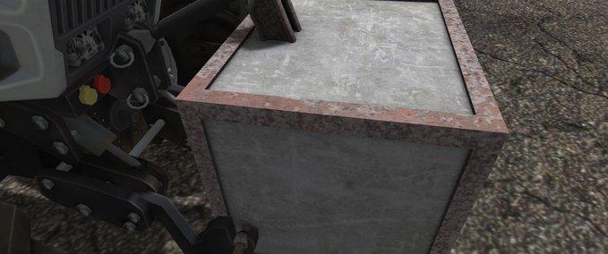 Altes-eigenbau-betongewicht