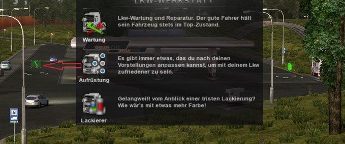 ETS 2: Workshop stations Mod v 1 0 Mods Mod für Eurotruck Simulator 2