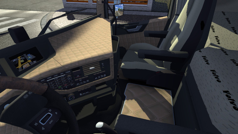 Ets 2 New Volvo Fh4 Leather V 1 7 0 Interieurs Mod F R