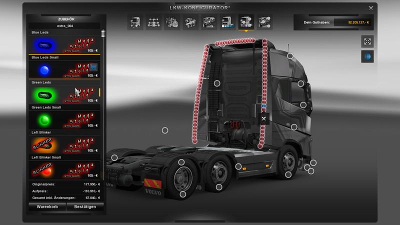 ets 2: Mod MegaStore v 1.5 Mods Mod für Eurotruck Simulator 2