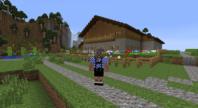 Minecraft: Wurzel Sepp v 2.0 Skins Mod für Minecraft ...