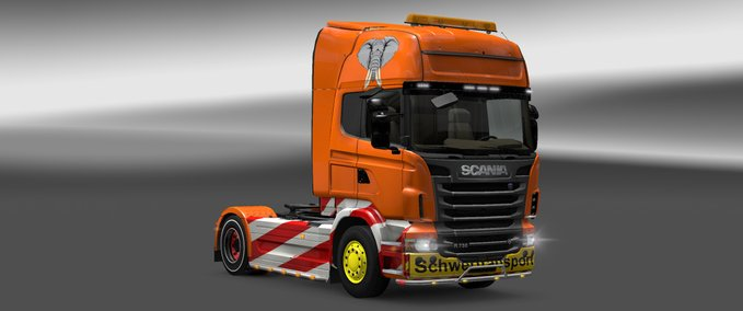 scania heavy transport skin v 1.0 ets2 image