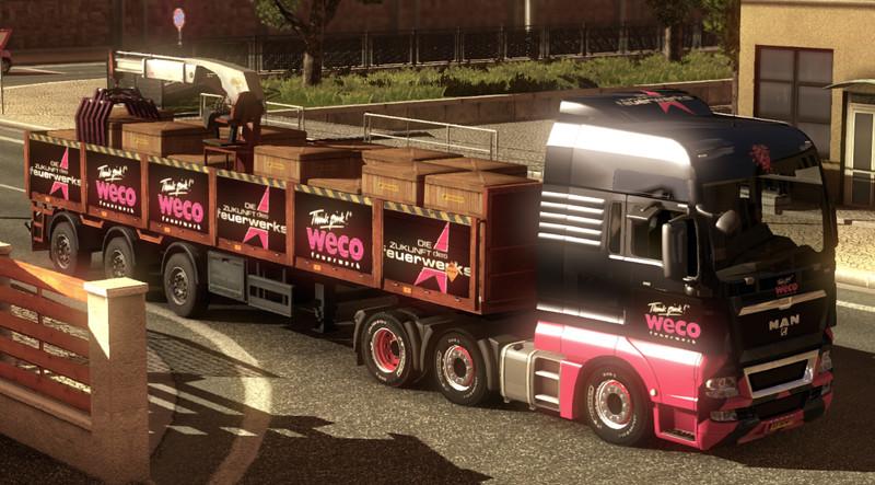 ets 2: Weco Feuerwerkskörper Combo v 2.0 Skins Mod für Eurotruck ...