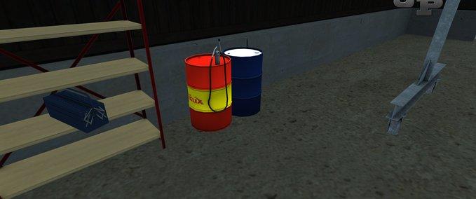 Oil barrels with hand pump v 1.0 image
