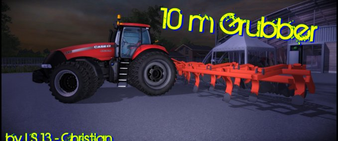 Cultivator 10 m red v 1.0 image