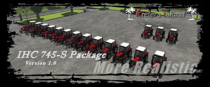 IHC 745s pack v 1.0 mr image