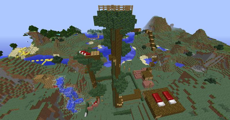 Minecraft: Adventure Map All in One v 2.0 Maps Mod für Minecraft
