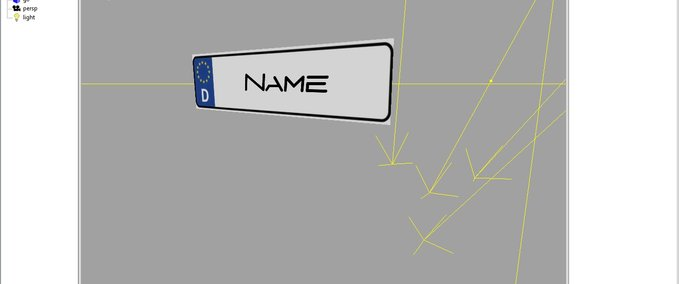 Name plate for tractors v 1.0 image