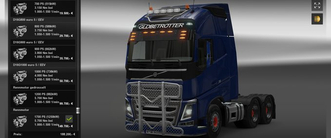 Heavy Load sand Engines v 2.0 ets2 image