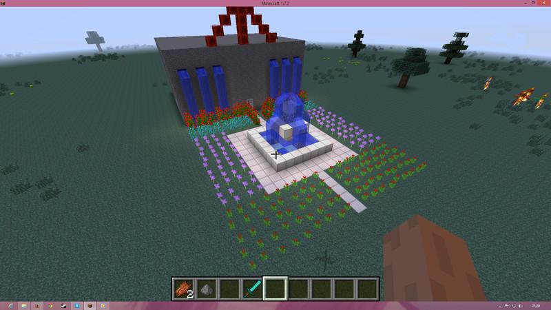 Minecraft haus v 1 0 maps mod f r minecraft for Minecraft modernes haus download 1 7 2