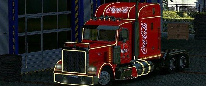 Peterbilt-379-coca-cola-truck-interior