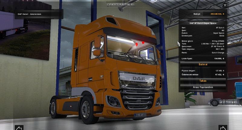 SCS Software's blog: The New DAF XF Euro 6 tease images